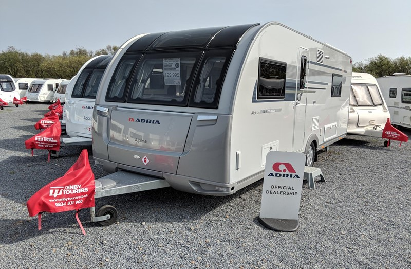Touring Caravan for Sale: Adria Alpina 613UL 2019 Colorado Single beds 4 berth