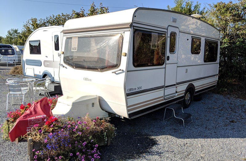 Touring Caravan for Sale: vintage bailey clifton 1980's touring caravan