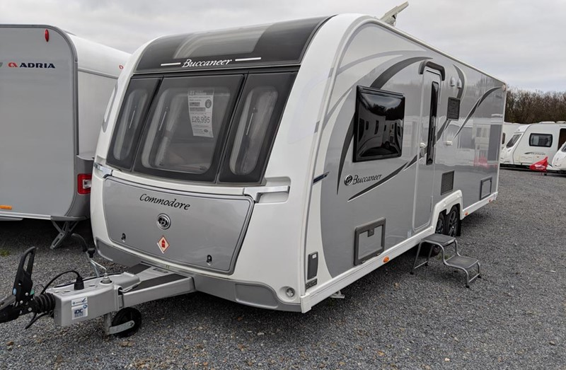 Touring Caravan for Sale: Buccaneer Commodore - 2017
