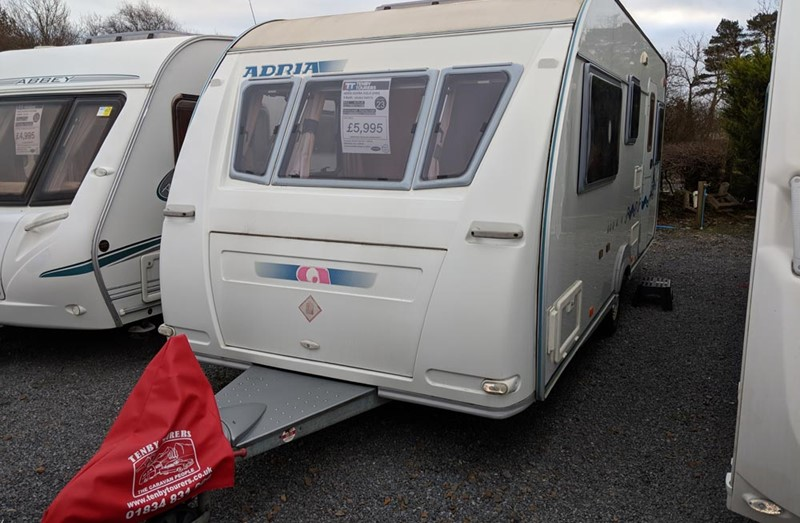 Touring Caravan for Sale: Adria Adora 532LD 2004 5 Berth double dinette