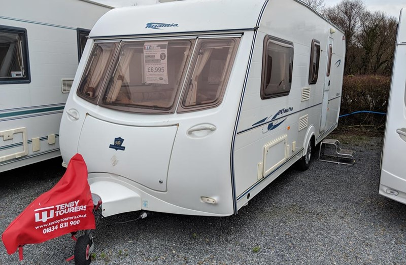 Touring Caravan for Sale: Coachman Atlantia 520/4 - 2006