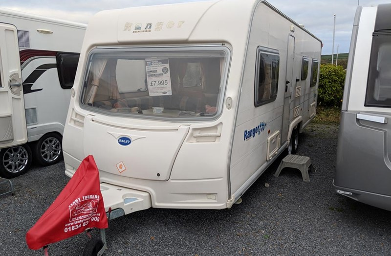 Touring Caravan for Sale: Bailey Ranger 620-6 - 2007