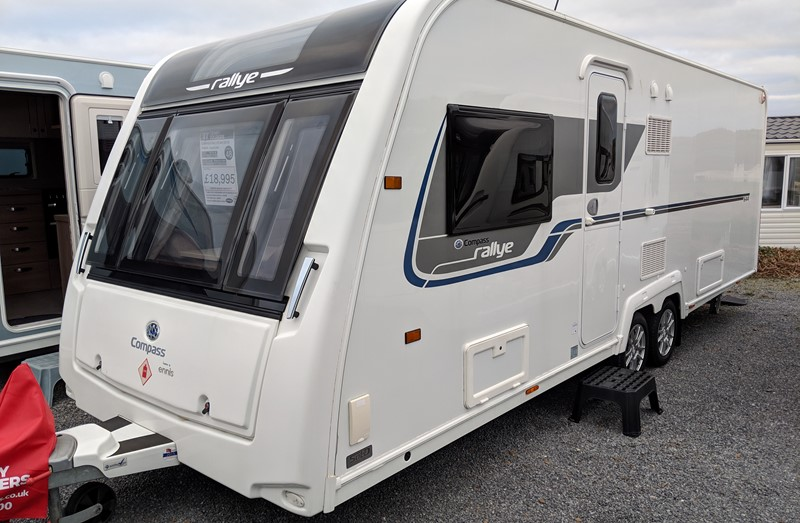Touring Caravan for Sale: Compass Rallye 644 - 2018
