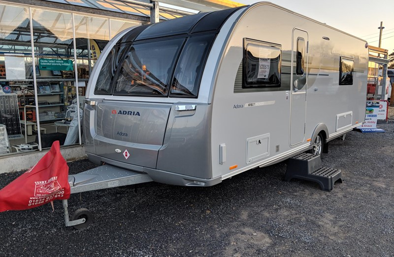 Touring Caravan for Sale: 2019 New Adria Adora 613DT Isonzo Island bed 4 berth