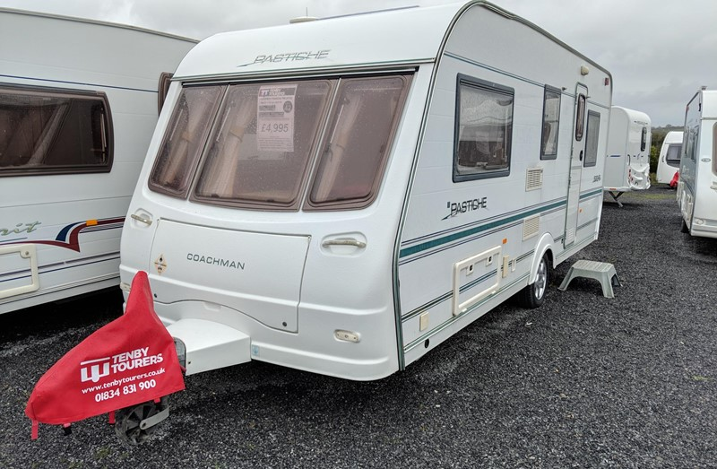 Touring Caravan for Sale: Used Coachman Pastiche 500/5 double dinette 5 berth