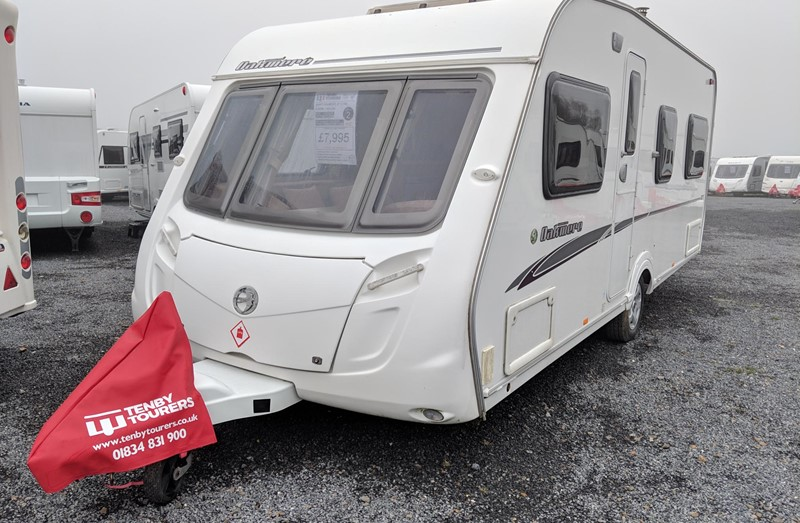 Touring Caravan for Sale: Swift Oakmere GT 2008 used 4 berth fixed bed