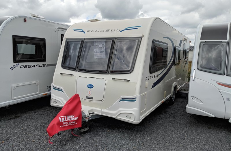 Touring Caravan for Sale: Bailey Pegasus Ancona 2011 6 berth triple bunk for sale