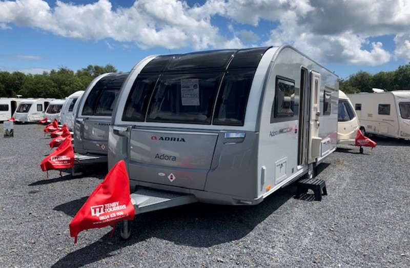Touring Caravan for Sale: Adria Adora 613 DT Isonzo Island Bed 2016