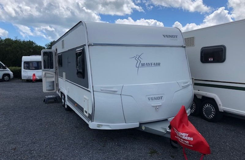 Touring Caravan for Sale: Fendt Mayfair 650 2013 Fixed Bed Twin Axle