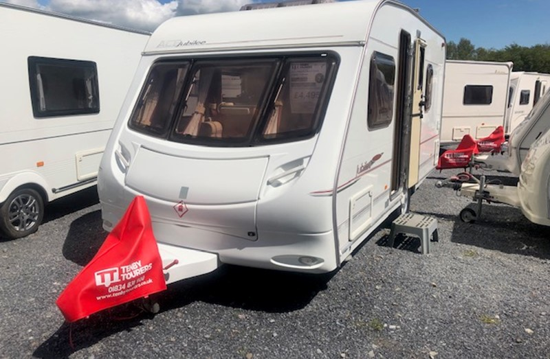 Touring Caravan for Sale: Ace Jubilee Envoy Fixed Bed 2005