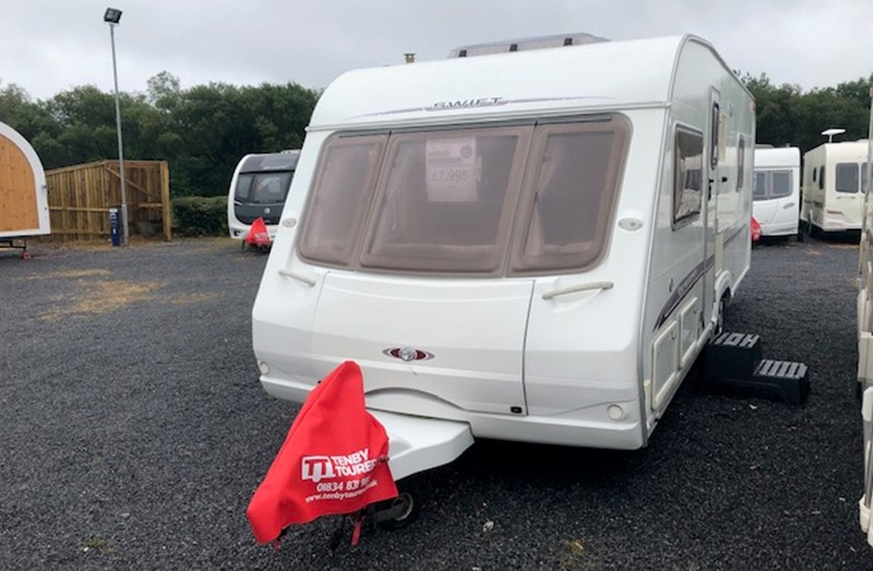 6 Berth Touring Caravans for Sale Wales