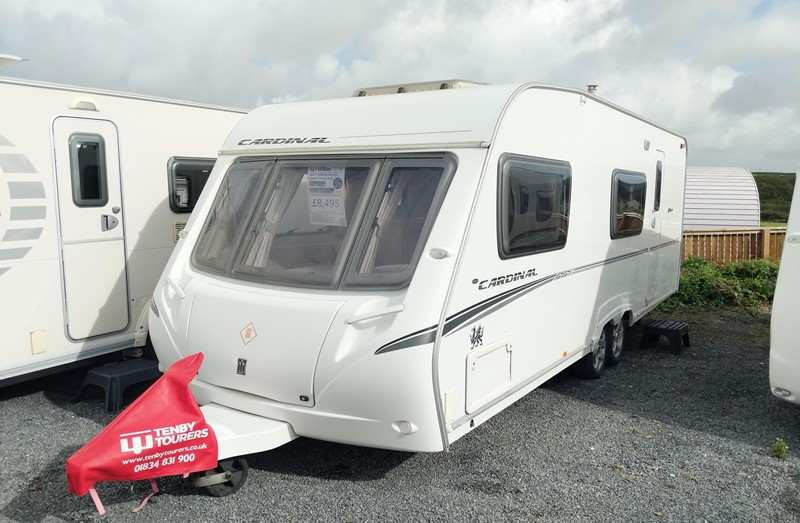 Touring Caravan for Sale: Abbey Swift Cardinal 600 2007 fixed bunks 6 berth