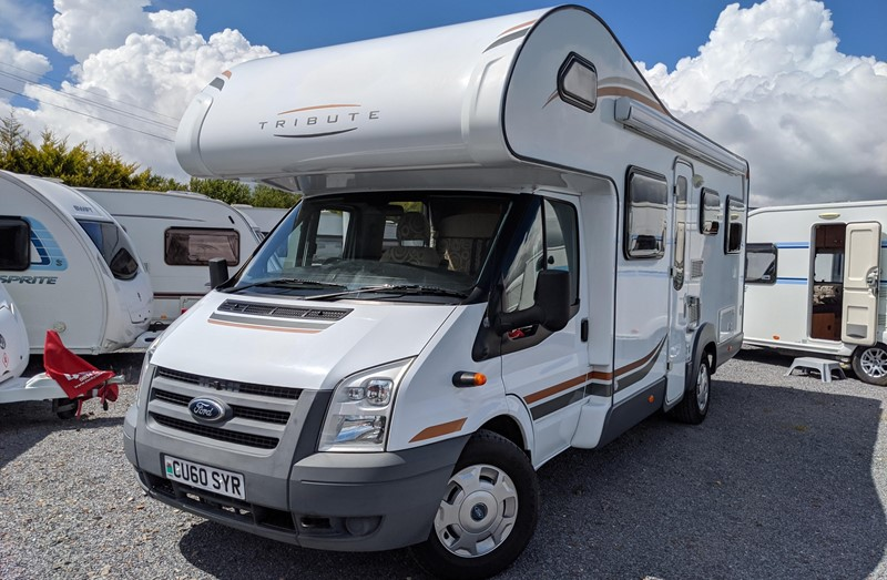 Motorhome for Sale: Tribute T720 Ford Transit 2010 6 berth motorhome