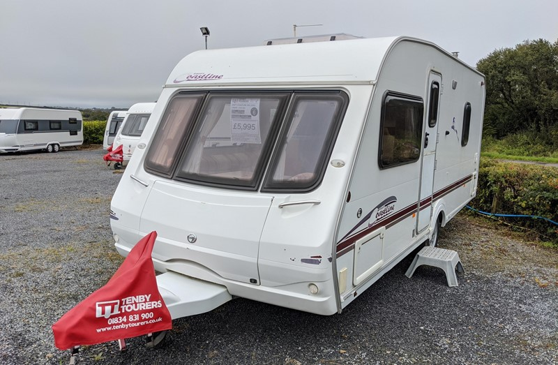 Touring Caravan for Sale: Swift Coastline 550 2006 fixed bed 4 berth