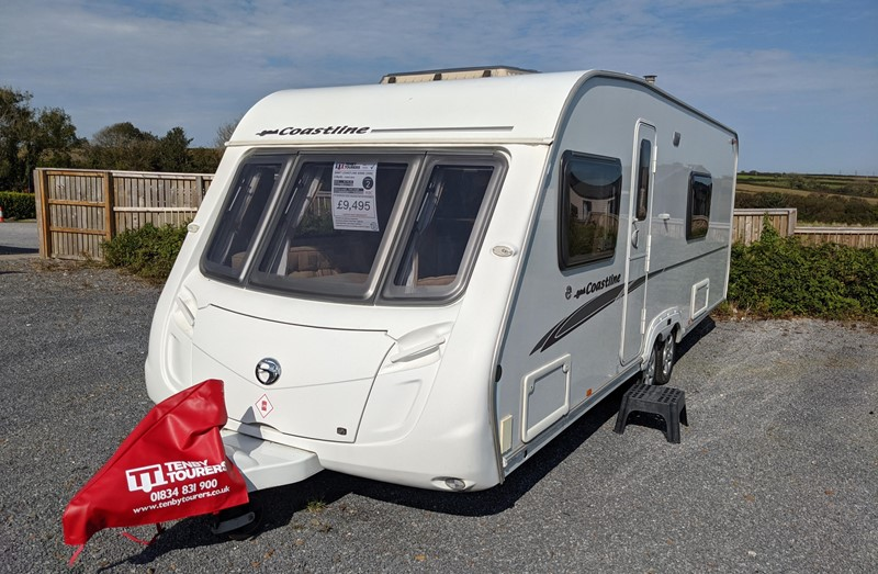 Touring Caravan for Sale: Swift Coastline 620 SE 4 berth fixed double bed twin axle