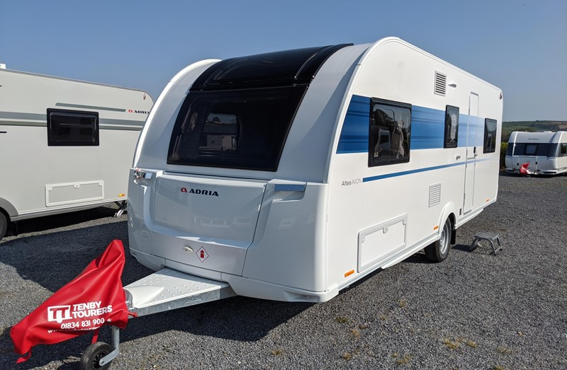 Touring Caravan for Sale: Adria Altea 622DK Avon 2021 new 6 berth triple bunk beds family touring caravan